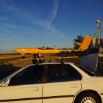 Arara II pronto para a decolagem
