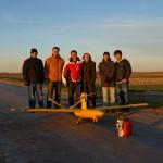 Equipe de lançamento do Arara II - Purdue