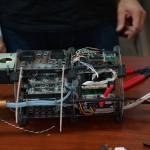 Parte eletrônica utilizada no Arara II